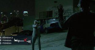 سکانس سقوط بر روی تاکسی در فیلم وثیقه(Collateral,2004)