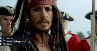 سکانس نجات جک گنجیشکه در فیلم دزدان دریایی کارائیب: نفرین مروارید سیاه(Pirates of the Caribbean: The Curse of the Black Pearl,2003)