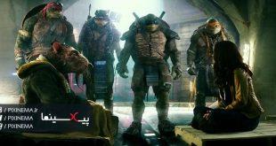 سکانس بزرگ شدن لاک پشت های نینجا در فیلم لاکپشتهای نینجای نوجوان جهشیافته(Teenage Mutant Ninja Turtles,2014)