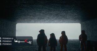 سکانس اولین ملاقات در دوازده سفینه فضایی در فیلم ورود(Arrival,2016)