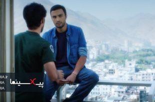 سکانس ملاقات مسعود و پیروز بعد از مدتها در فیلم رخ دیوانه(۱۳۹۳)